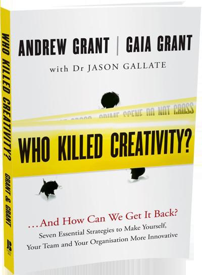 Contact Us: Who Killed Creativity?