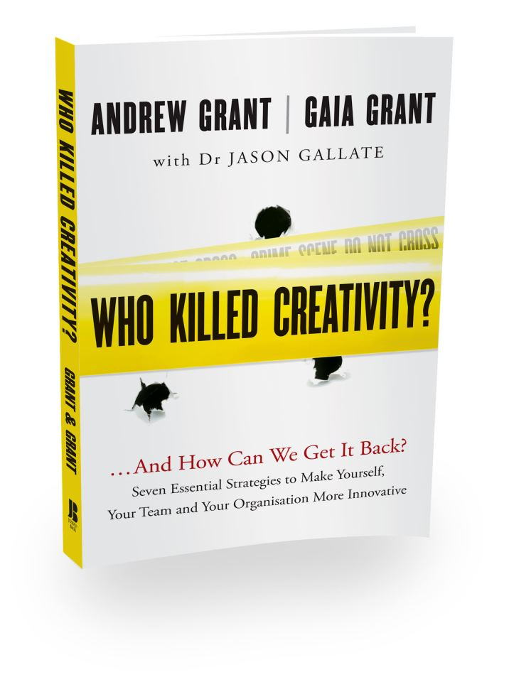 Book cover Who Killed Creativity?...And How Can We Get It Back?